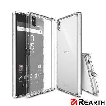 Rearth Sony Xperia Z5 Premium (Ringke Fusion)高質感保護殼(透明) 贈送保護貼