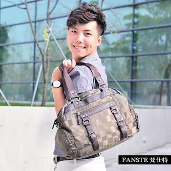 Fanste_梵仕特 休閒旅行袋 多功能側背包-9437