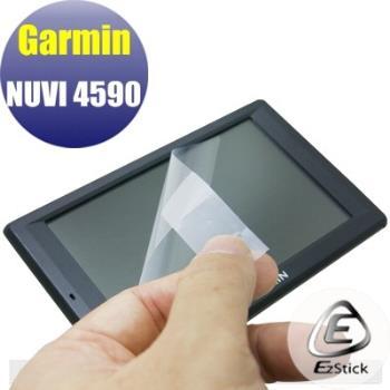 【EZstick】GARMIN NUVI 4590 專用 靜電式筆電LCD液晶螢幕貼 (霧面螢幕貼)