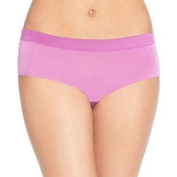 DKNY 2016女時尚Fusion光滑細纖維粉紅色三角內著3件組(預購)