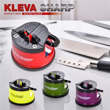 【KLEVA SHARP】吸盤式安全磨刀器