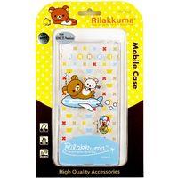 Rilakkuma 拉拉熊 SONY Xperia Z5 Premium E6853 5.5吋 彩繪透明保護軟套-環遊世界