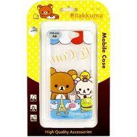 Rilakkuma 拉拉熊 HTC One A9 彩繪透明保護軟套-巴黎鐵塔