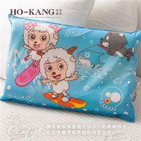 HO KANG 經典卡通 100%天然幼童乳膠枕-SY衝浪