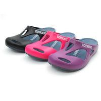 【cher美鞋】│餐飲業愛用超防滑款│無毒環保鞋 (黑 桃紅 紫3色)  306-85