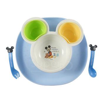 【SuperBO】米奇幼兒學習餐具組