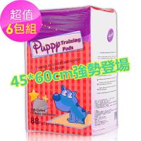 Huppy 哈比狗狗訓練尿布墊6包(45cm*60cm 88片/包)