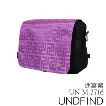UNDFIND UN-2716(M) 時尚多功能攝影包-迷宮紫 UN-2716-M6