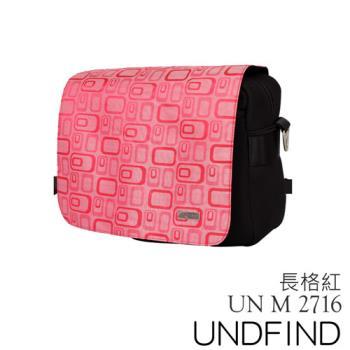 UNDFIND UN-2716(M) 時尚多功能攝影包-長格紅 UN-2716-M5