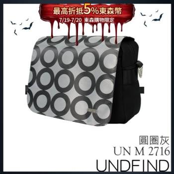 UNDFIND UN-2716(M) 時尚多功能攝影包-圓圈灰 UN-2716-M3