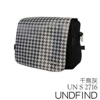 UNDFIND UN-2716(S) 時尚多功能攝影包-千鳥灰 UN-2716-S2