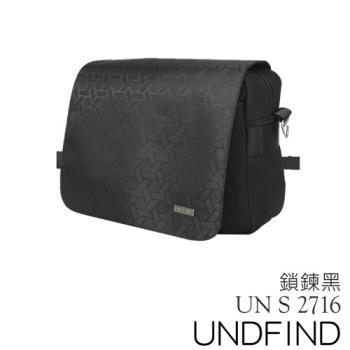 UNDFIND UN-2716(S) 時尚多功能攝影包-鎖鍊黑 UN-2716-S1