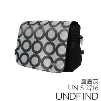 UNDFIND UN-2716(S) 時尚多功能攝影包-圓圈灰 UN-2716-S3