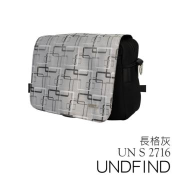 UNDFIND UN-2716(S) 時尚多功能攝影包-長格灰 UN-2716-S4