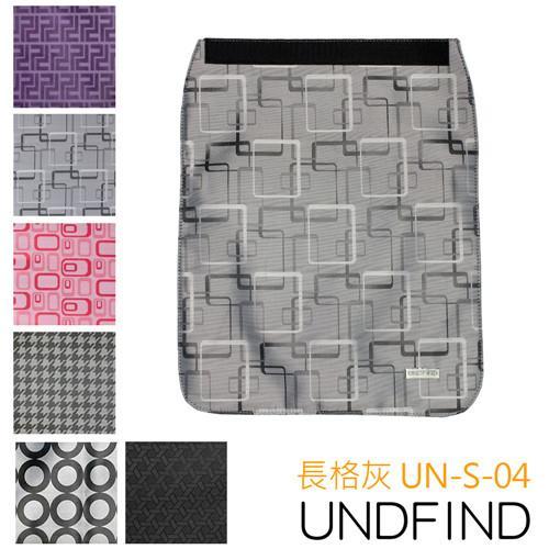 UNDFIND UN-S(小) 時尚多功能攝影包上蓋-長格灰 UN-S-04