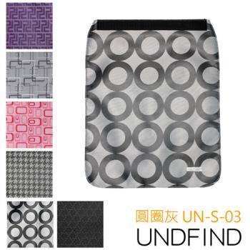 UNDFIND UN-S(小) 時尚多功能攝影包上蓋-圓圈灰 UN-S-03