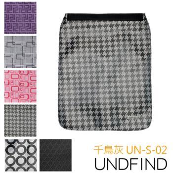 UNDFIND UN-S(小) 時尚多功能攝影包上蓋-千鳥灰 UN-S-02