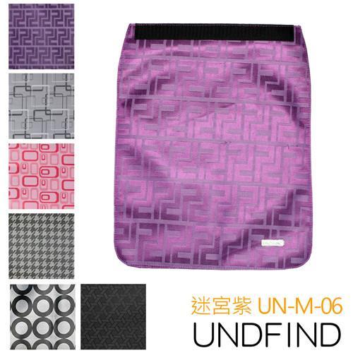 UNDFIND UN-M(中) 時尚多功能攝影包上蓋-迷宮紫 UN-M-06