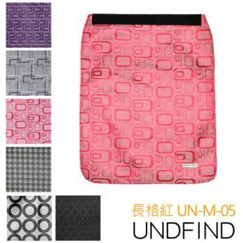 UNDFIND UN-M(中) 時尚多功能攝影包上蓋-長格紅 UN-M-05
