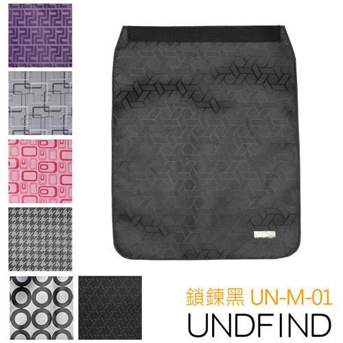 UNDFIND UN-M(中) 時尚多功能攝影包上蓋-鎖鍊黑 UN-M-01