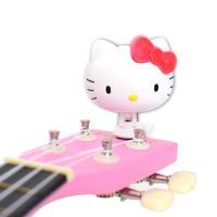 Hello Kitty 三麗鷗正版授權 5合1 夾式 調音器