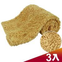 CARBUFF 車痴極超細纖維擦拭布30x60cm/褐色 3入 MH-8312