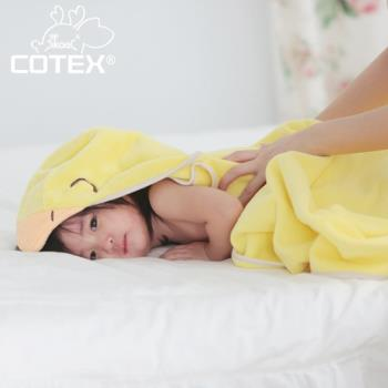 COTEX可透舒 - 開心可達鴨浴巾