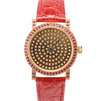 JL 爵儷繽紛滿天星腕錶(紅)