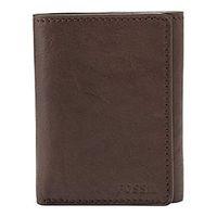 【Fossil】2016男時尚Ingram褐色三折皮夾(預購)