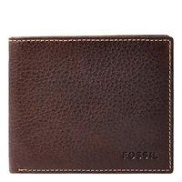 【Fossil】2016男時尚Lincoln深棕色皮夾(預購)