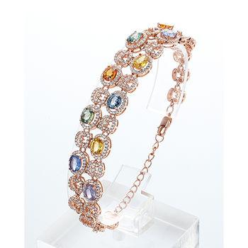 美帝亞繽紛艷麗彩寶手鍊