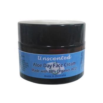 Body Temple無香味臉部蘆薈保濕日霜50g-88%有機成份-適一般,乾性肌膚