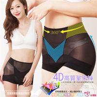 伊黛爾 4D平腹提臀雕塑束褲 3件組 (台灣製)