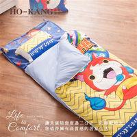 HO KANG卡通授權 幼教兒童睡袋-妖怪手錶 武士的慶典