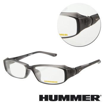 【HUMMER】方形亮面灰色光學眼鏡(H3-1001-C2)