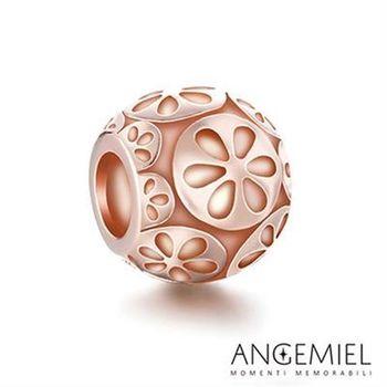 Angemiel安婕米 925純銀珠飾 花綻放 串珠