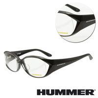 【HUMMER】大粗框黑色光學眼鏡(H2-1008-C1)
