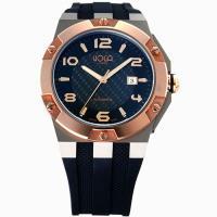 HOGA英雄本色純鈦機械腕錶(玫瑰金框/48mm)