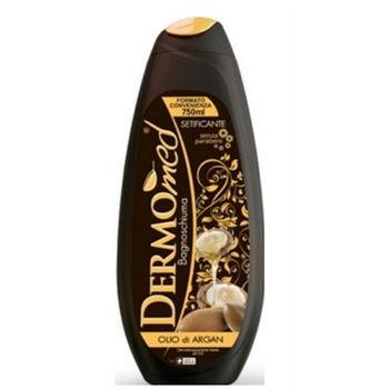 【義大利 DERMOmedNaive 】絲滑沐浴乳-堅果油(ph=5.5)【750ml】*2加贈CAMAY香皂(180g)*2