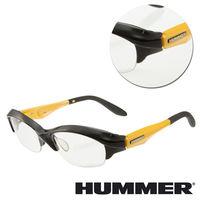 【HUMMER】半框黃色光學眼鏡(V8-901-YL)