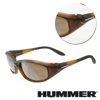 【HUMMER】全框棕色太陽墨鏡(HUMVEE-904-BR)