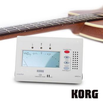 KORG 可輸出 專業調音器 CA-40