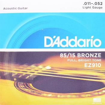 DAddario EZ910 民謠木吉他專用弦 (超值兩組裝)