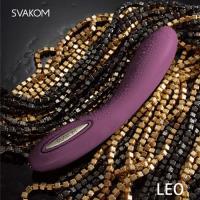 美國SVAKOM Leo 裏奧 6段變頻 長效功能 大型G點按摩棒 紫