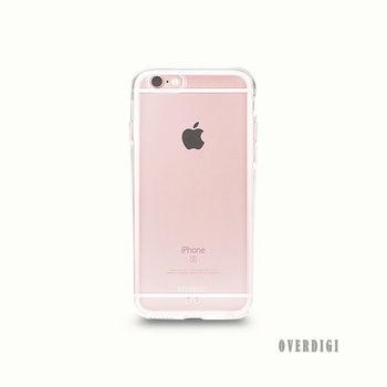 OVERDIGI Aurora iPhone6(S) Plus 全包覆保護殼 透明-行動