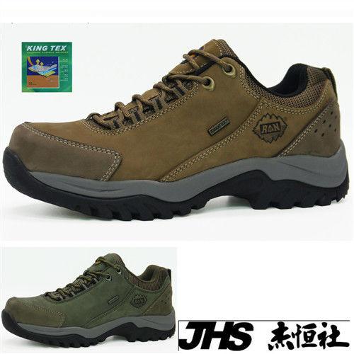 【JHS杰恆社】RAN款823(kingtex)牛皮防水戶外登山露營溯溪健走工裝機車鞋靴休閒皮鞋沙灘鞋(雪松CEDAR)