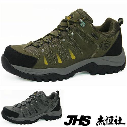 【JHS杰恆社】RAN款723牛皮防水戶外登山露營溯溪健走工裝機車鞋靴休閒皮鞋沙灘鞋(雪松CEDAR)