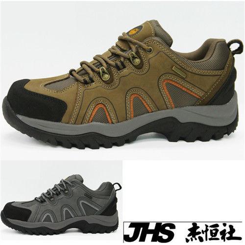 【JHS杰恆社】RAN款623牛皮防水戶外登山露營溯溪健走工裝機車鞋靴休閒皮鞋沙灘鞋(雪松CEDAR)