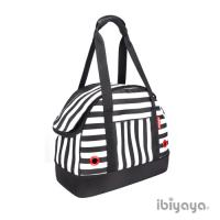 【IBIYAYA依比呀呀】壓馬路寵物保齡球包-黑白條紋(FC1580)