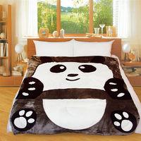 【Victoria】動物造型毯-可愛熊貓